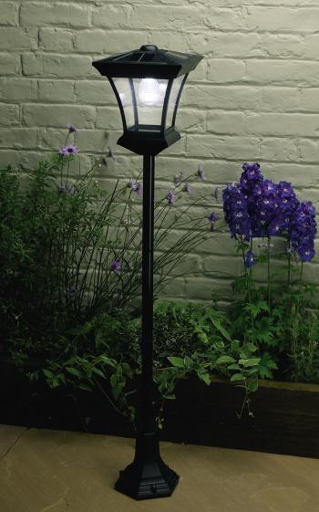 lampu taman cast iron