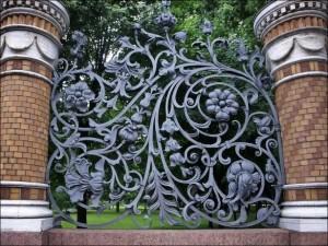 ornamen pagar cast iron