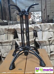 Kaki meja cafe cast iron