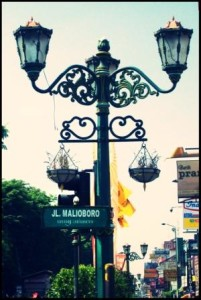 Lampu PJU Jalan Malioboro