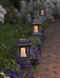 lampu taman minimalis pendek