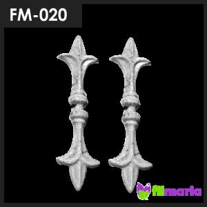 ornamen pagar motif tombak 020