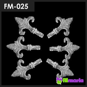 ornamen pagar motif tombak 025