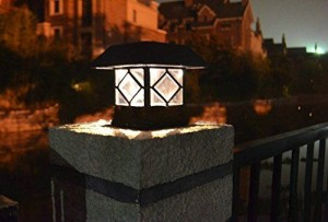 lampu pagar cast iron