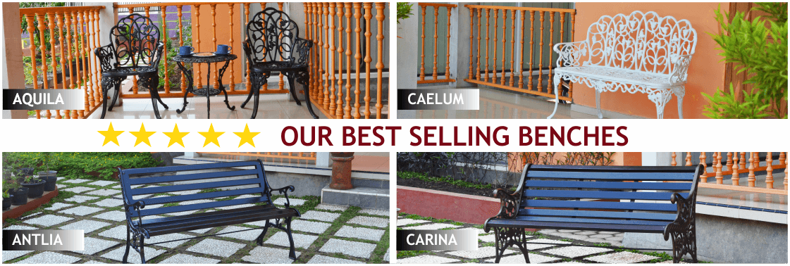 our best selling benches