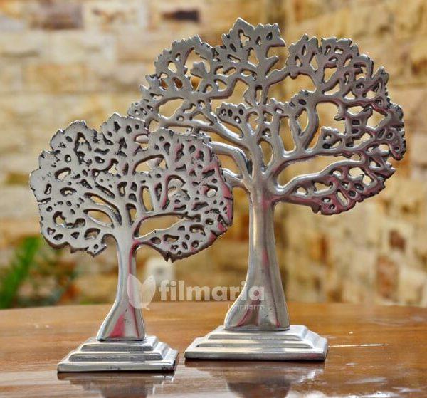 hiasan meja motif pohon