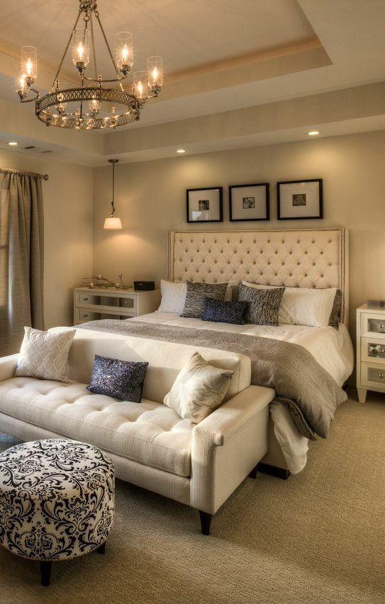 tips dekorasi kamar tidur dengan menggunakan lampu gantung