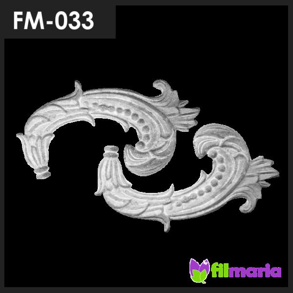 ornamen pagar motif flora 033