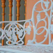 detail handle caelum kursi taman cast iron