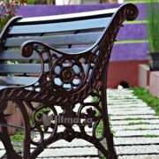 detail kaki kursi carina kursi taman panjang cast iron model
