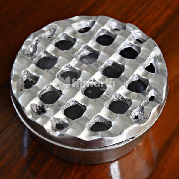 detail asbak aluminium