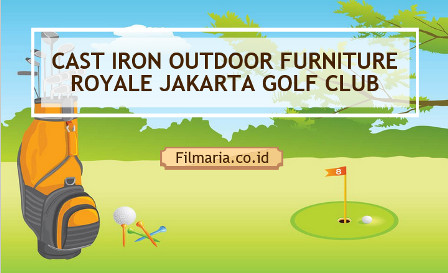 Cast iron oudoor furniture golf club
